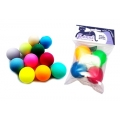Fun Rainbow Ping Pong Balls - 4 in a pack