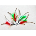 Christmas Feather Spinner Attachment - Fits PurrSuit, Frenzy & DaBird Rods