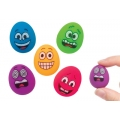Eggstatic Bouncing Jet Egg Balls - 3 in set