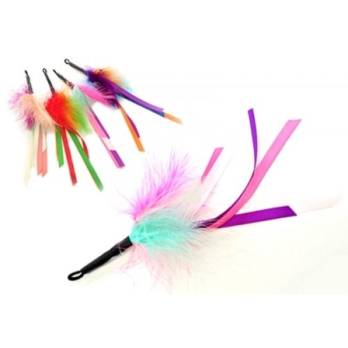 Purrs Feather Ribbon Attachment Fits Purrsuit Frenzy