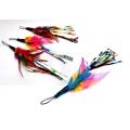 Purrs Feather Rustler ClipOn Prey - Fits PurrSuit, Frenzy & DaBird Rods