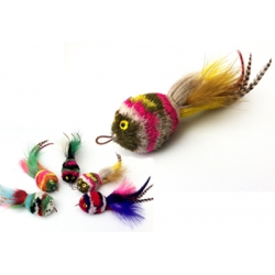 Purrs Polywog Attachment - Fits PurrSuit, Frenzy & DaBird Rods
