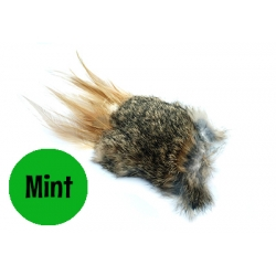 Purrs Wild Hare Puff - Mint -Standalone Cat Toy