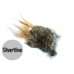 Purrs Wild Hare  Puff - SilverVine Standalone Cat Toy