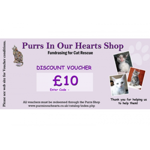 10 Purrs Shop Gift Discount voucher – Shop Discount Vouchers