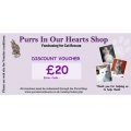 £20 Purrs Shop Gift / Discount voucher