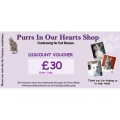 £30 Purrs Shop Gift / Discount voucher