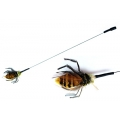 Wasp Bug Attachment -Fits Bug Hunter Interchangeable Cat Toy