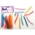 Purrs Flingie Springies - Colourful Springs Cat Toy - THIN -10 Pack