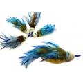 Purrs Bluetit Bird ClipOn - Fits PurrSuit, Frenzy & DaBird Rods
