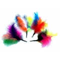 Purrs Rainbow Fluffer Attachment - Fits PurrSuit, Frenzy & DaBird Rods