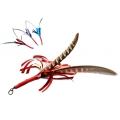 Purrs Feather Shimmer Spinner ClipOn - Fits PurrSuit, Frenzy & DaBird Rods